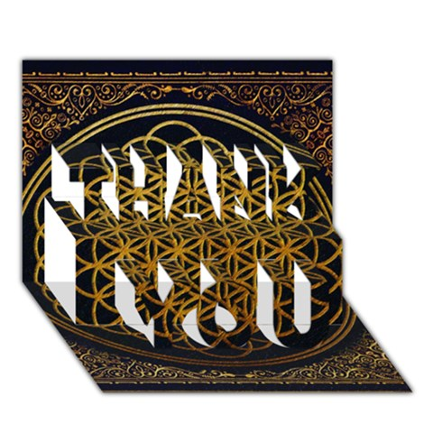 Bring Me The Horizon Cover Album Gold THANK YOU 3D Greeting Card (7x5)