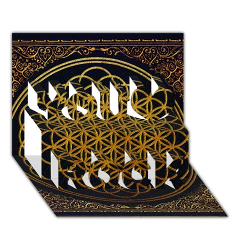 Bring Me The Horizon Cover Album Gold You Rock 3D Greeting Card (7x5)
