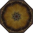 Bring Me The Horizon Cover Album Gold Hook Handle Umbrellas (Small) View1