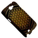 Bring Me The Horizon Cover Album Gold Samsung Galaxy Note 2 Hardshell Case View5