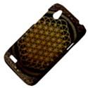 Bring Me The Horizon Cover Album Gold HTC Desire V (T328W) Hardshell Case View4