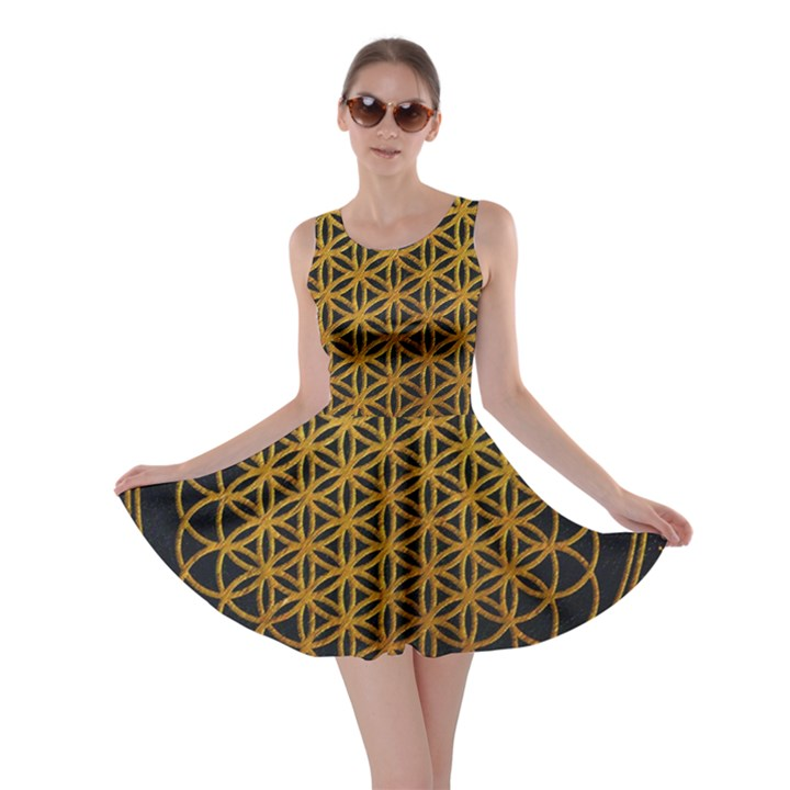 Bring Me The Horizon Cover Album Gold Skater Dress