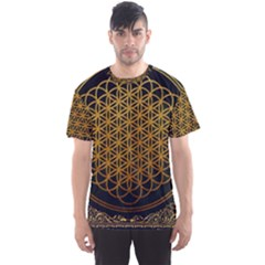 Bring Me The Horizon Cover Album Gold Men s Sport Mesh Tee