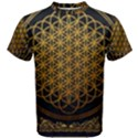 Bring Me The Horizon Cover Album Gold Men s Cotton Tee View1