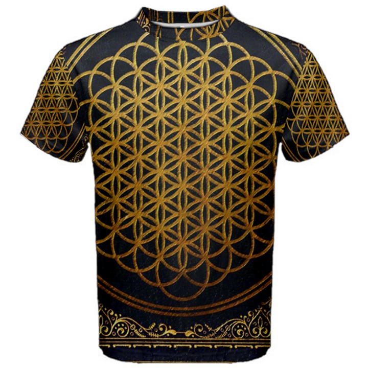 Bring Me The Horizon Cover Album Gold Men s Cotton Tee
