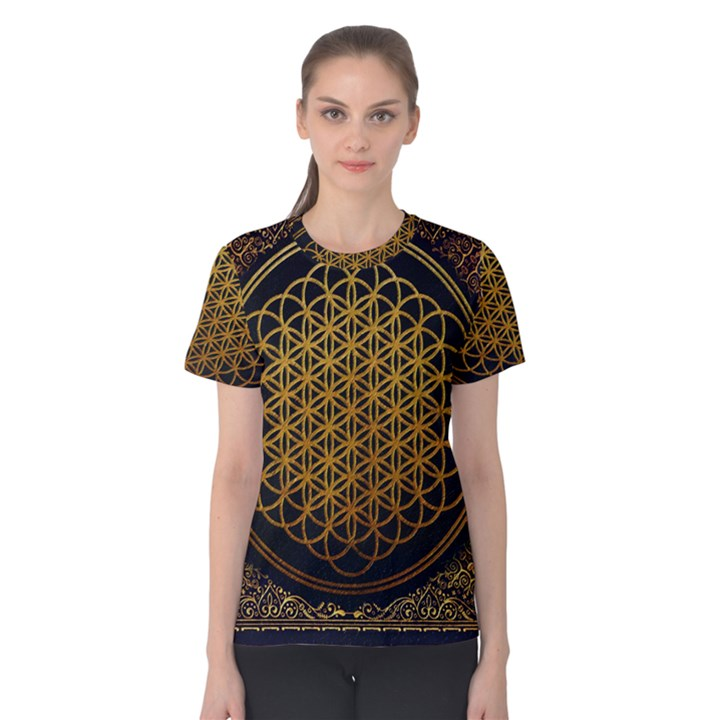 Bring Me The Horizon Cover Album Gold Women s Cotton Tee