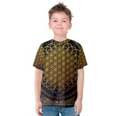 Bring Me The Horizon Cover Album Gold Kids  Cotton Tee