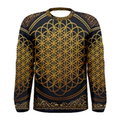 Bring Me The Horizon Cover Album Gold Men s Long Sleeve Tee