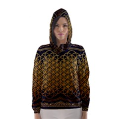 Bring Me The Horizon Cover Album Gold Hooded Wind Breaker (women)