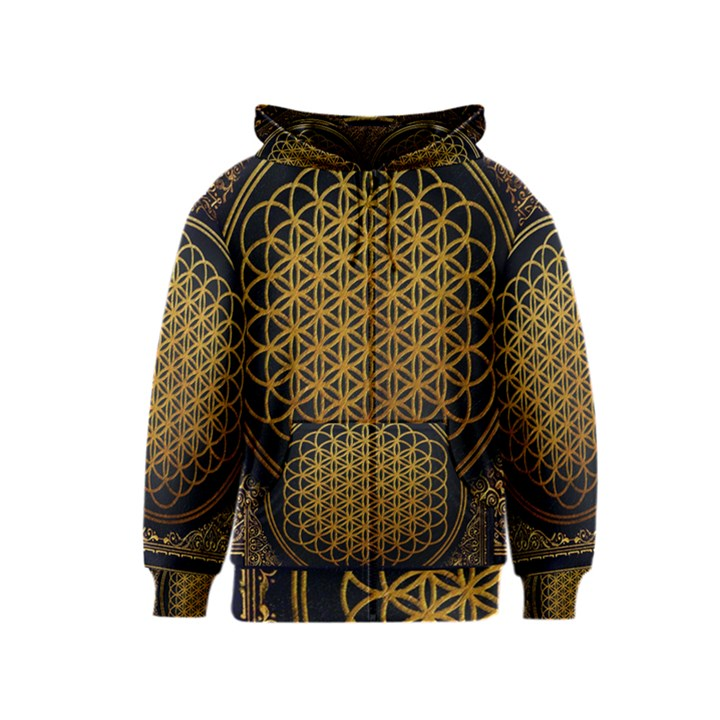 Bring Me The Horizon Cover Album Gold Kids  Zipper Hoodie