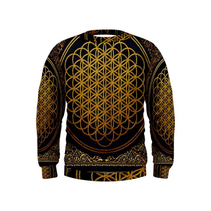 Bring Me The Horizon Cover Album Gold Kids  Sweatshirt