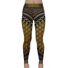 Bring Me The Horizon Cover Album Gold Yoga Leggings