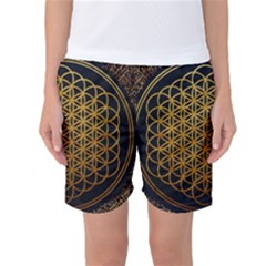 Bring Me The Horizon Cover Album Gold Women s Basketball Shorts
