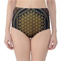 Bring Me The Horizon Cover Album Gold High-Waist Bikini Bottoms View1