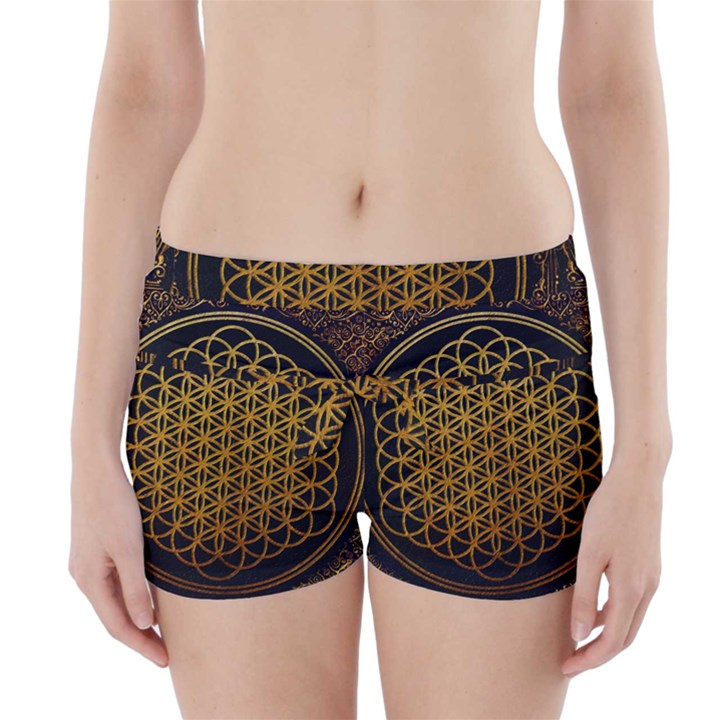 Bring Me The Horizon Cover Album Gold Boyleg Bikini Wrap Bottoms