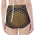 Bring Me The Horizon Cover Album Gold High-Waisted Bikini Bottoms View2