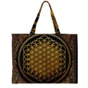 Bring Me The Horizon Cover Album Gold Large Tote Bag View1