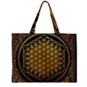 Bring Me The Horizon Cover Album Gold Large Tote Bag View2
