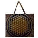 Bring Me The Horizon Cover Album Gold Zipper Large Tote Bag View1