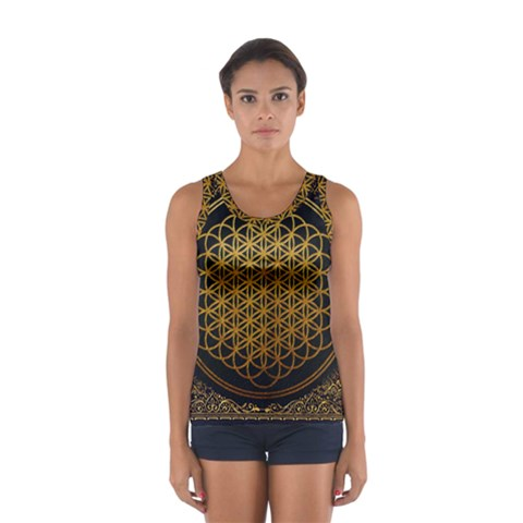 Bring Me The Horizon Cover Album Gold Women s Sport Tank Top