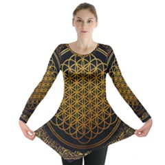 Bring Me The Horizon Cover Album Gold Long Sleeve Tunic