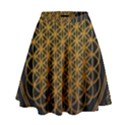 Bring Me The Horizon Cover Album Gold High Waist Skirt View1