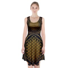 Bring Me The Horizon Cover Album Gold Racerback Midi Dress
