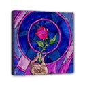 Enchanted Rose Stained Glass Mini Canvas 6  x 6  View1
