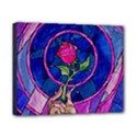 Enchanted Rose Stained Glass Canvas 10  x 8  View1