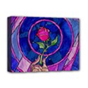 Enchanted Rose Stained Glass Deluxe Canvas 16  x 12   View1