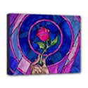 Enchanted Rose Stained Glass Deluxe Canvas 20  x 16   View1