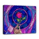 Enchanted Rose Stained Glass Deluxe Canvas 24  x 20   View1