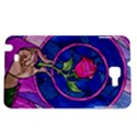 Enchanted Rose Stained Glass Samsung Galaxy Note 1 Hardshell Case View1