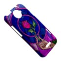 Enchanted Rose Stained Glass HTC One X Hardshell Case  View5