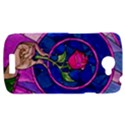 Enchanted Rose Stained Glass HTC One S Hardshell Case  View1