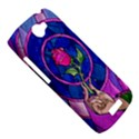 Enchanted Rose Stained Glass HTC One S Hardshell Case  View5