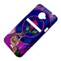 Enchanted Rose Stained Glass HTC Evo 4G LTE Hardshell Case  View4