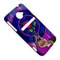Enchanted Rose Stained Glass HTC Evo 4G LTE Hardshell Case  View5
