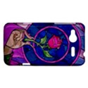 Enchanted Rose Stained Glass HTC Radar Hardshell Case  View1
