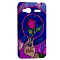 Enchanted Rose Stained Glass HTC Radar Hardshell Case  View2