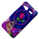 Enchanted Rose Stained Glass HTC Radar Hardshell Case  View4