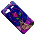 Enchanted Rose Stained Glass HTC Radar Hardshell Case  View5