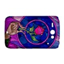 Enchanted Rose Stained Glass HTC ChaCha / HTC Status Hardshell Case  View1