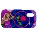 Enchanted Rose Stained Glass HTC Amaze 4G Hardshell Case  View1