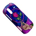 Enchanted Rose Stained Glass HTC Amaze 4G Hardshell Case  View5