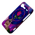 Enchanted Rose Stained Glass HTC Incredible S Hardshell Case  View4