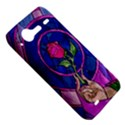 Enchanted Rose Stained Glass HTC Incredible S Hardshell Case  View5