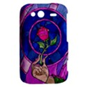 Enchanted Rose Stained Glass HTC Wildfire S A510e Hardshell Case View2