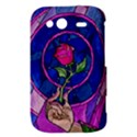 Enchanted Rose Stained Glass HTC Wildfire S A510e Hardshell Case View3