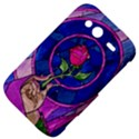 Enchanted Rose Stained Glass HTC Wildfire S A510e Hardshell Case View4